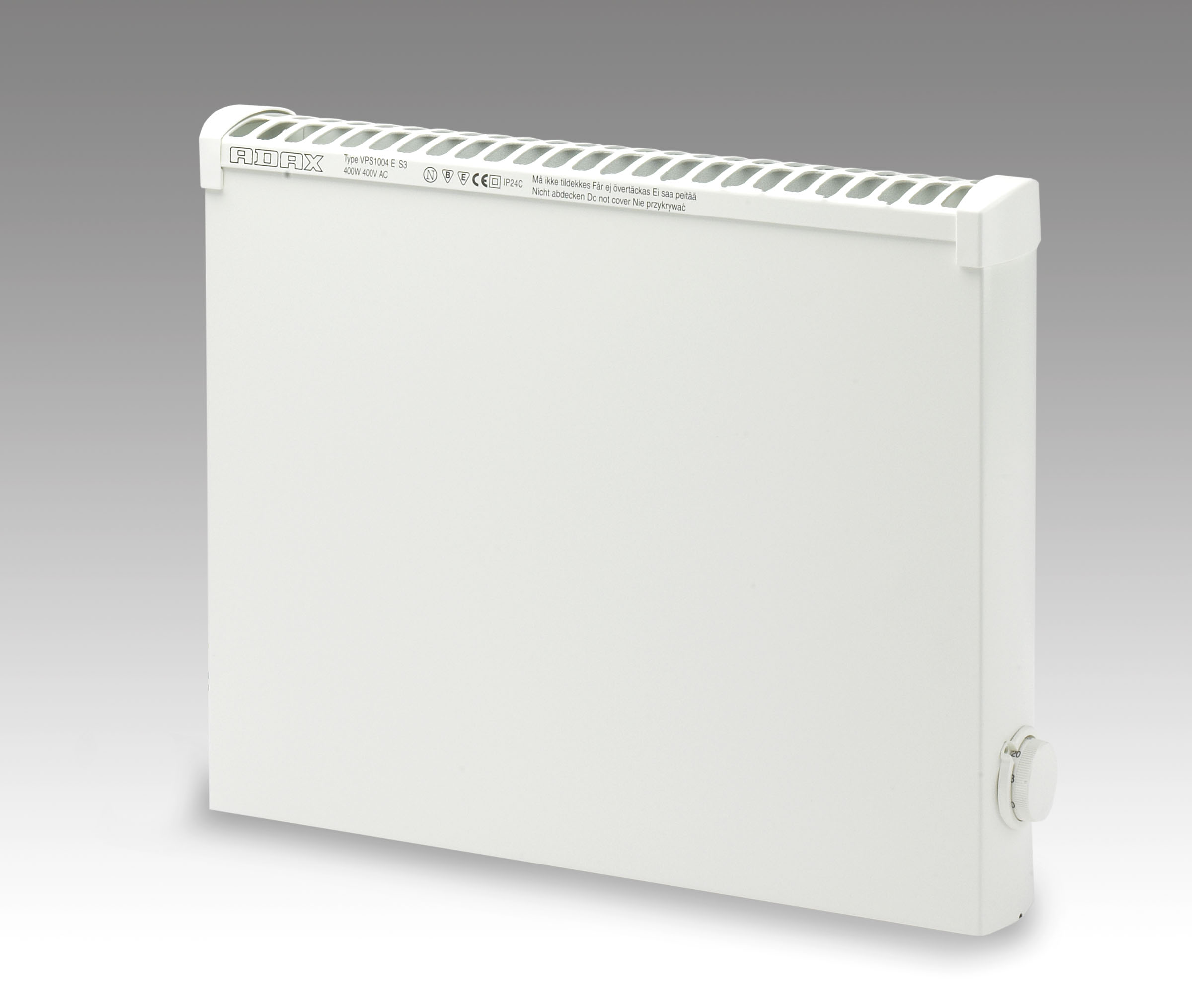 Elektrinis radiatorius ADAX VPS 1004 KEM