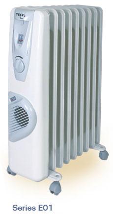 Tepalinis radiatorius su ventiliatoriumi CBE 01 2009V