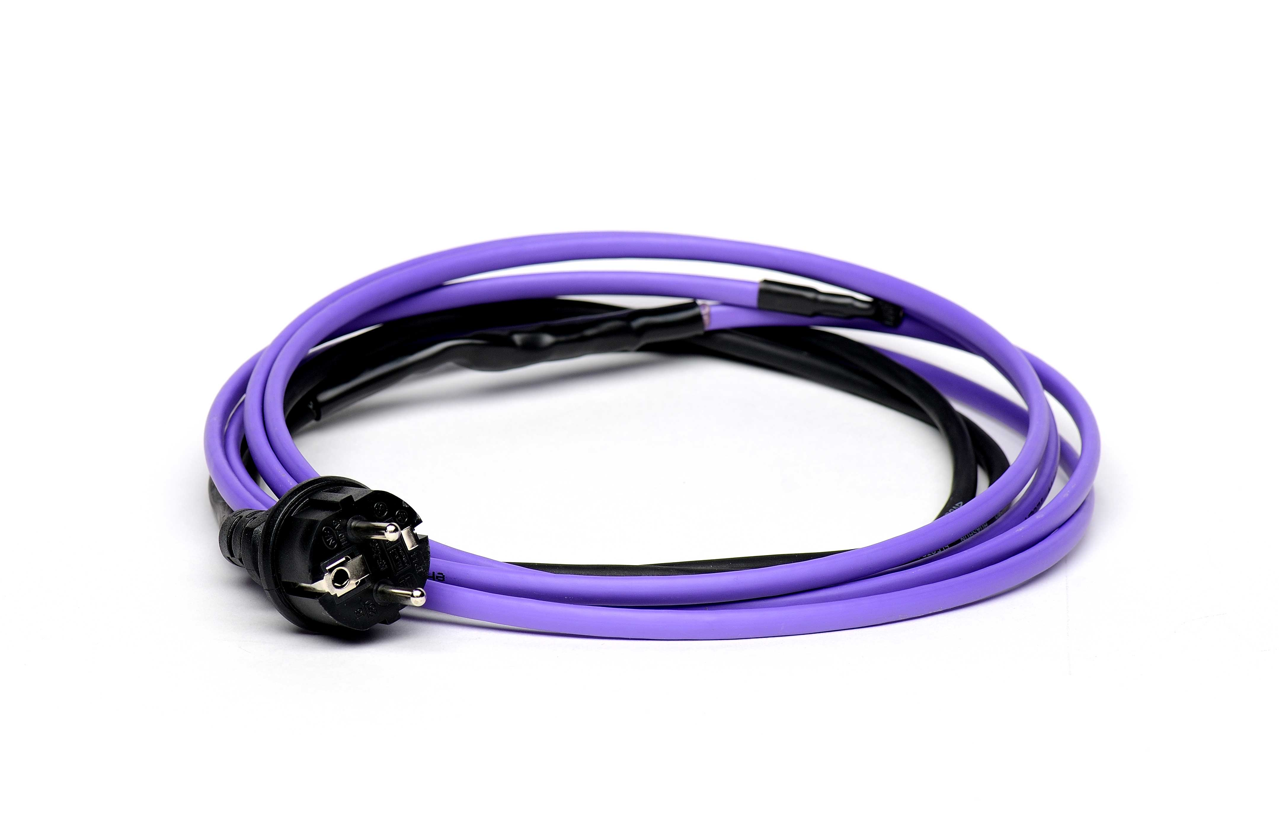 Savireguliuojantis šildymo kabelis pipeheat 10 (su kištuku), 1 m
