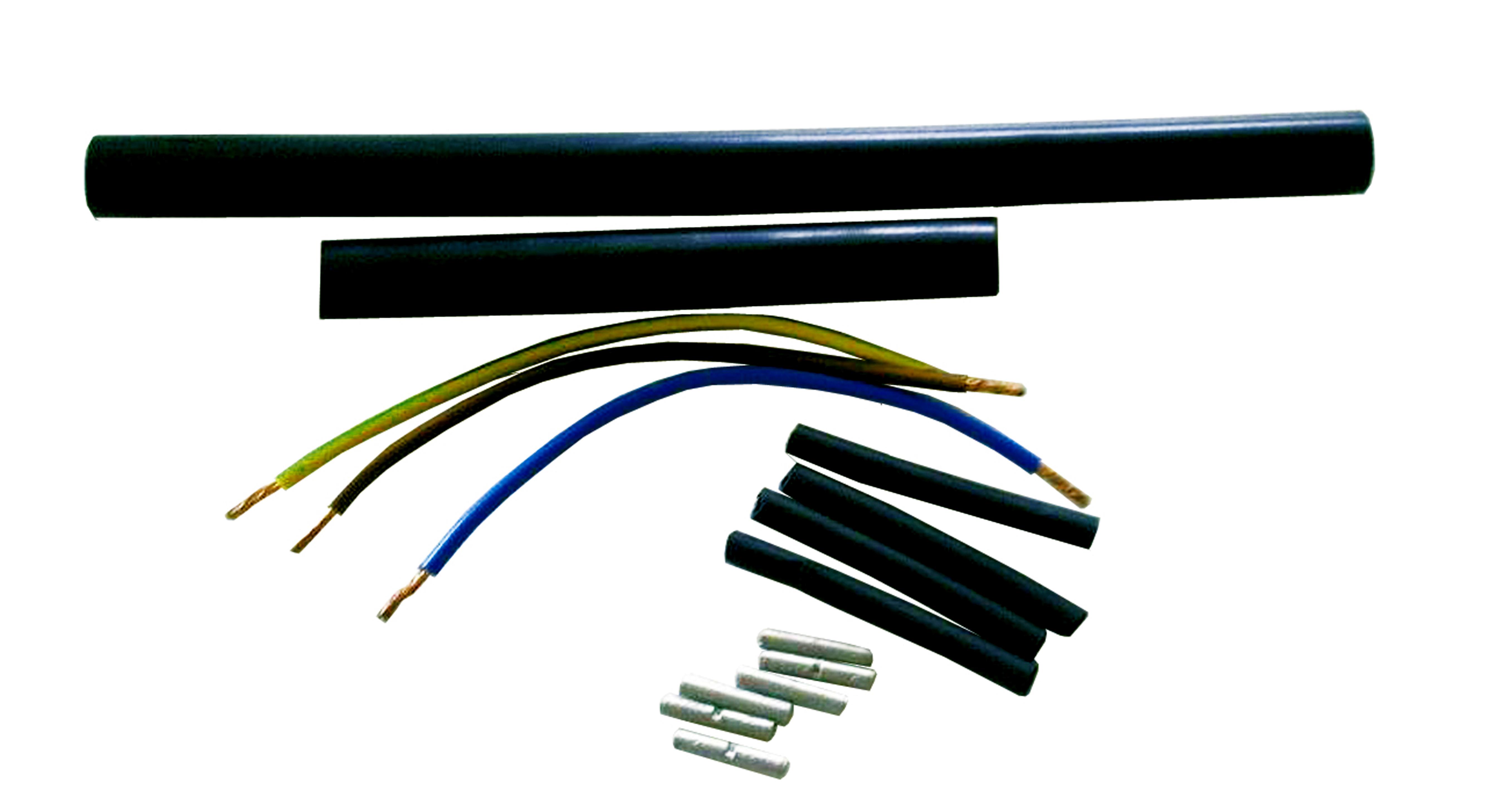 Remonto komplektas dviejų laidininkų kabeliui / kilimėliui
