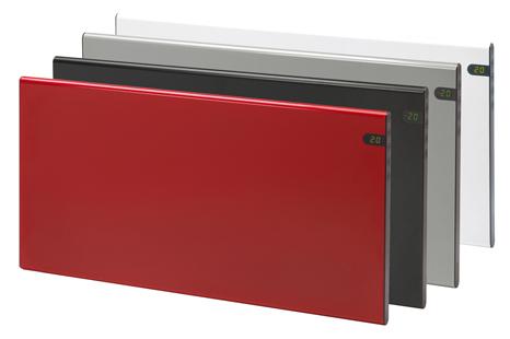 Elektrinis radiatorius GLAMOX heating H30 H 10 KDT Red