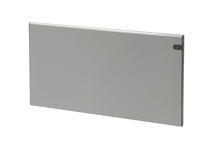 Elektrinis radiatorius GLAMOX heating H30 H 10 KDT Silver