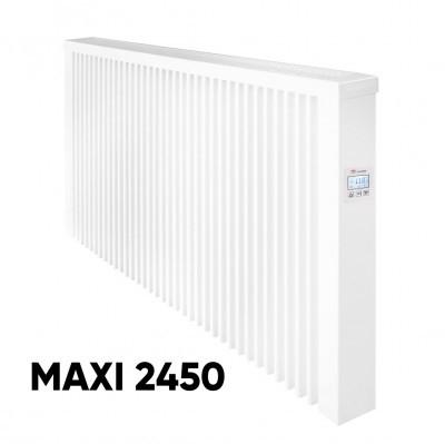 Elektrinis akumuliacinis radiatorius Aeroflow MAXI 2450 su FlexiSmart valdymu