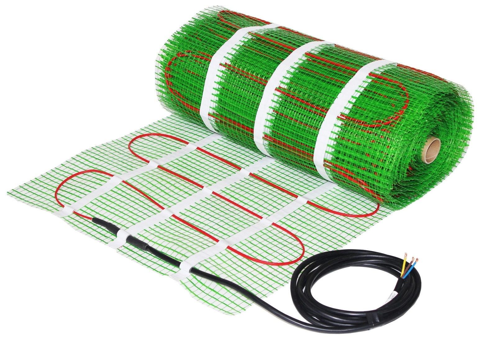 Šildymo kabelių kilimėlis WELLMO Plus WMSM-0,5-150 (0,5 m²)