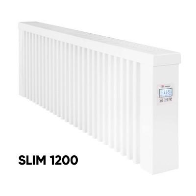 Elektrinis akumuliacinis radiatorius Aeroflow SLIM 1200 su FlexiSmart valdymu