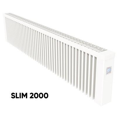 Elektrinis akumuliacinis radiatorius Aeroflow SLIM 2000 su FlexiSmart valdymu