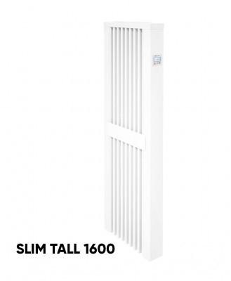 Elektrinis akumuliacinis radiatorius Aeroflow SLIM TALL 1600 su FlexiSmart valdymu
